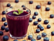 Рецепта Сироп от боровинки без варене (зимнина)